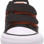 Converse Star Player Ev 2v Ox, Baskets Mixte Enfant, Black/Gym Red/White, 20 EU de la marque Converse image 1 produit