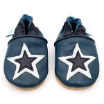 Dotty Fish Soft Leather Baby and Toddler Shoes. Boys and Girls. Stars. 0-6 Months - 4-5 Years de la marque Dotty Fish image 2 produit