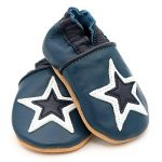 Dotty Fish Soft Leather Baby and Toddler Shoes. Boys and Girls. Stars. 0-6 Months - 4-5 Years de la marque Dotty Fish image 3 produit